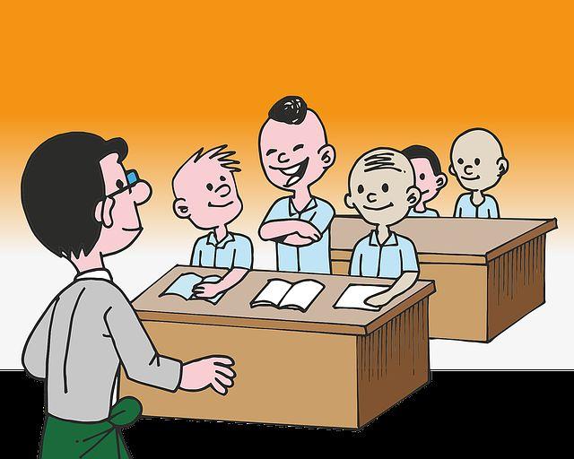 Ilustrasi Suasana Kelas (sumber gambar: pixabay.com)