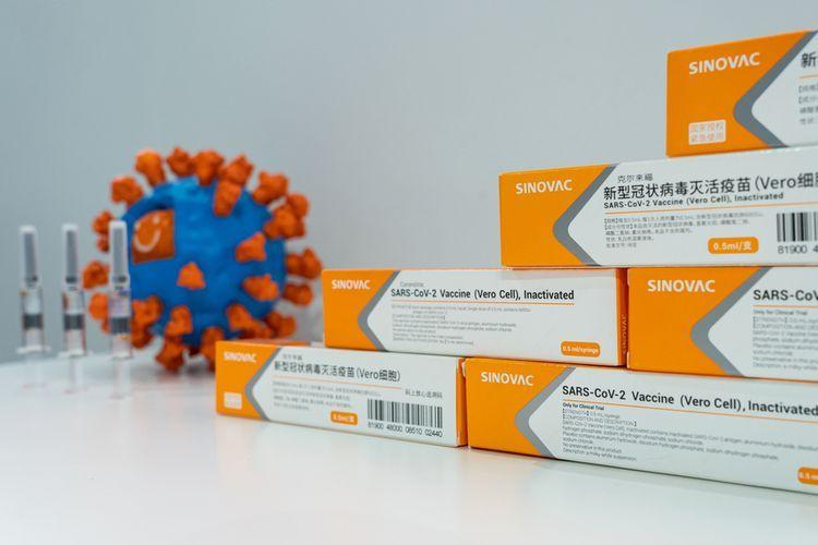 Vaksin COVID-19 Sinovac mampu mengendalikan pandemi di kota Serrana, Brasil (SHUTTERSTOCK/Shan-shan via kompas.com)