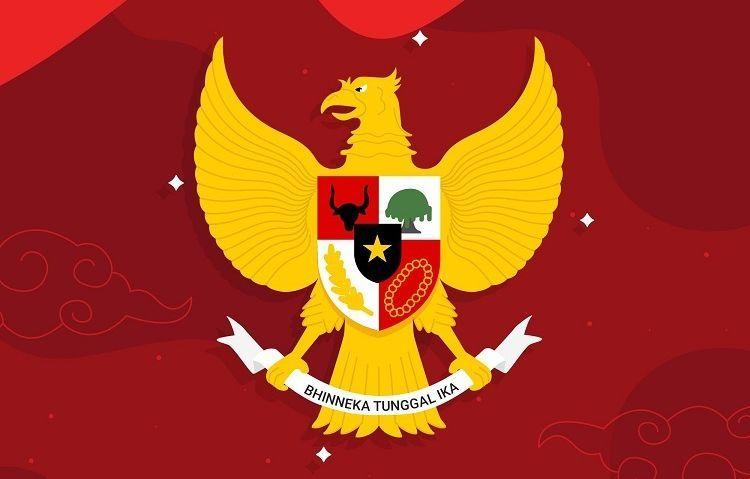 Ilustrasi lambang negara (foto dari freepik.com)