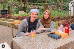 Alvin Faiz dan istrinya, Larissa Chou (Instagram Alvin Faiz)