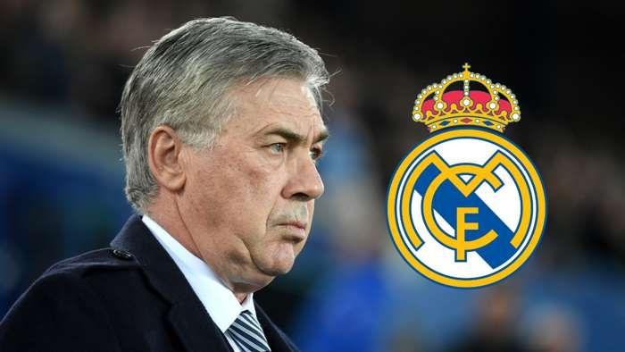 Carlo Ancelotti ditunjuk menjadi pelatih baru Real Madrid. Ini adalah kali kedua Ancelotti melatih Madrid. Sumber foto: Getty Images via Goal.com