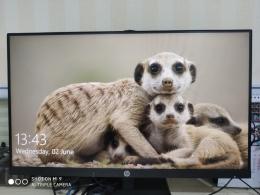 Desktop Background saya hari ini, sumber: dokpri