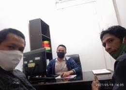 Dokpri. Di kantor BPJS Ketenagakerjaan