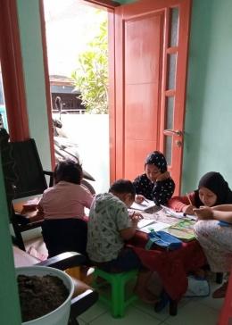 Pendampingan belajar bersama-dokpri