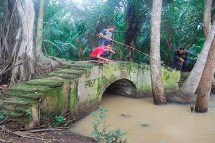 Sisa Peninggalan Sultan Ageng Tirtayasa, Sitem Irigasi. Foto Kompas.co