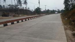 Jalan Lingkar Selatan (JLS) Cilegon. Foto Waras Farm