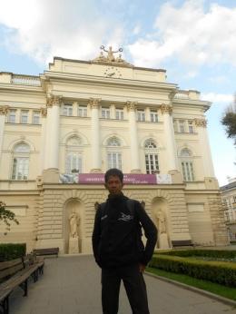 University of Warsaw. foto dok pribadi