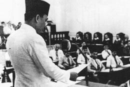 Pidato Sukarno pada sidang BPUPKI(kemdikbud.go.id)/Kompas.com