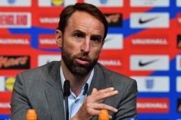Pelatih Timnas Inggris, Gareth Southgate (BEN STANSALL / AFP via KOMPAS.com)