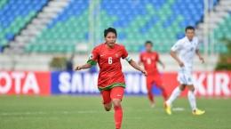 Evan Dimas. kapten Timnas Garuda dalam menghadapi kualifikasi Piala Dunia 2022 dan kualifikasi Piala Asia 2023 (Foto The-AFC.com)