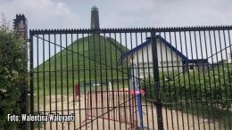 Foto Piramida Austerlitz di Belanda, dalam masa corona ditutup untuk pengunjung | dokumentasi pribadi