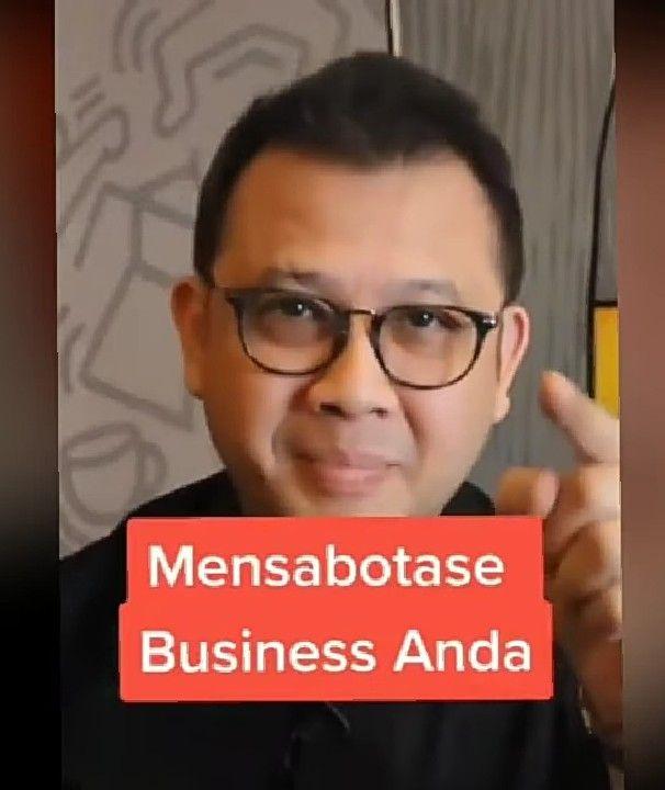 Screenshot mensabotase bisnis diambil dari unggahan Tribun Timur (dokumen pribadi)