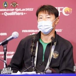 Shin Tae-yong, pelatih timnas Indonesia asal Korea Selatan | Sumber: www.instagram.com/pssi