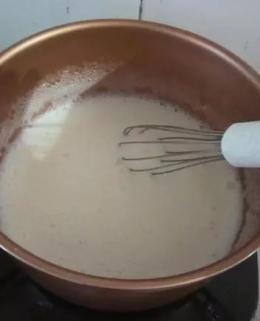 Cara membuat Fla Setup Roti   Sumber : Dokpri