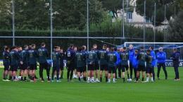Latihan Timnas Italia (foto: @LaPresse/Jennifer Lorenzini)