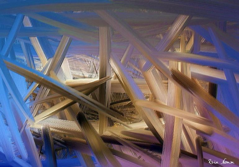 Ilustrasi dekonstruksi karya seni modern. Foto: fineartamerica.com.