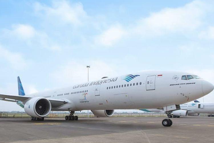 ilustrasi Garuda Indonesia (Kompas)
