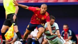 Thiago Alcantara, jadi tumpuan harapan Spanyol di Euro 2020 (sumber foto: newsbit.us/AP)