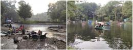 Beberapa fasilitas di mata air Senjoyo   foto: KRAISWAN