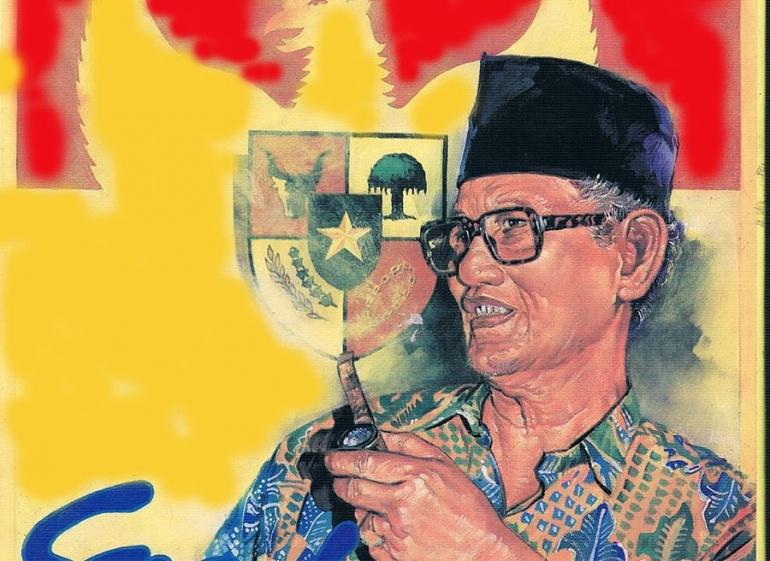 H Moch Said alias Mbah Progo. foto:golkaria.blogspot.com