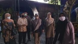 Sidak anggota Komisi E DPRD dan Dinas Pendidikan Jawa Timur ke SMA SPI Batu, yang diduga menjadi tempat kejahatan seksual anak oleh oknum pemiliknya, JE. (dokpri)