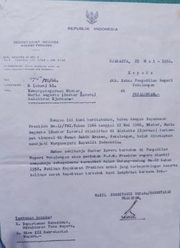Surat Kewargaan Negara untuk Sr. Maria Xavera dari Presiden ( dok pri )
