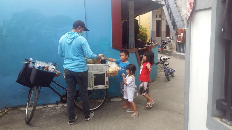 Anak-anak suka beras kencur (DokPri)
