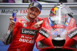 Akhirnya naik podium (dok.motogp.com)