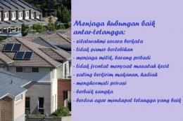 Kiat menjaga kehidupan bertetangga agar baik-baik saja (Gambar dari kompas.com/ domain.com.au).