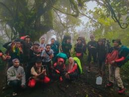 Pendakian gunung Slamet via BC Bambangan. ( Dok.pribadi )