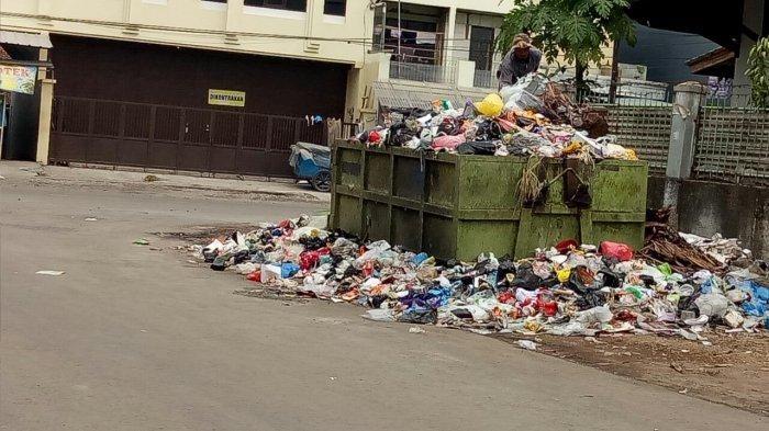 Sampah di Kota (sumber gambar: jabar.tribunnews.com)