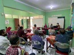 Sosialisasi kegiatan di Kelurahan Purbayan-dokpri
