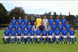 Timnas Italia di Euro 2020 | TWITTER.com/@azzurri/Kompas.com