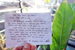 Salah satu rekan blogger asal Bengkulu yang berprofesi sebagai guru di sebuah MTs. - Dokumen Pribadi