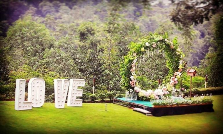 Wedding moment (foto: Kalyana Resort)