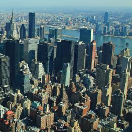 Kawasan Midtown-Manhattan. Sumber: koleksi pribadi