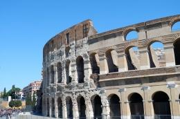Colosseum Roma, Italia (Dokumentasi pribadi)