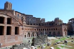 Arsitektur Kota Roma (Dokumentasi pribadi)