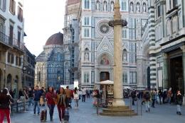 Kawasan Kota Tua Florence(Dokumentasi pribadi)