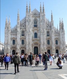 Duomo di Milano(Dokumentasi pribadi)