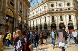 Galleria Vittorio Emanuelle II (Dokumentasi pribadi)