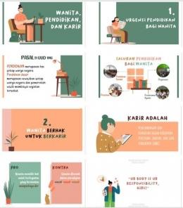 Beberapa tampilan materi yang disajikan (8 dari total 18 slide)