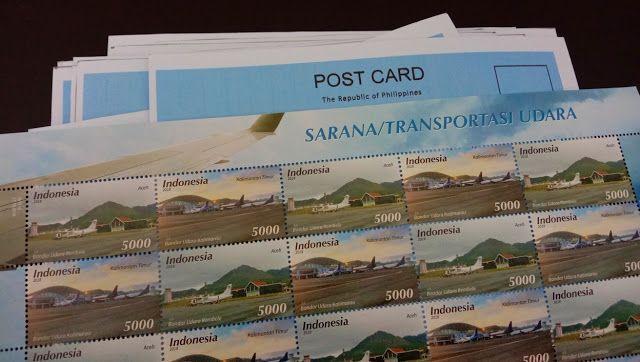 Mengirim kartu pos era sekarang. - Dokumen Pribadi