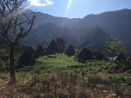 Kampung Adat Wae Rebo (Diambil dari kamera telepon genggam) Dokpri