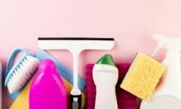 Ilustrasi sikat dan sabun untuk mencuci karpet. Sumber: Freepik via popmama.com