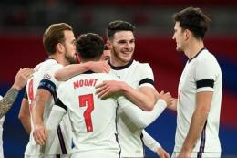 Kepercayaan Diri, Menjadi Modal Penting Timnas Inggris dalam Upaya Meraih Gelar Juara Euro 2020 - Sumber : bola.kompas.com