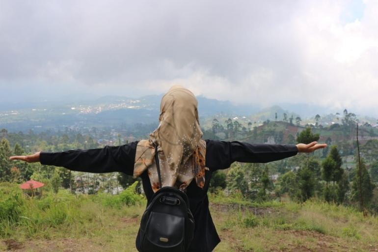 Pemandangan dari View Slamet/Foto: Lilian Kiki Triwulan