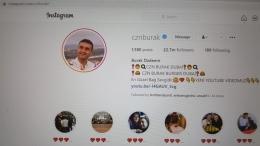 Tampilan instagram