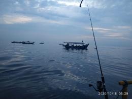 Memancing di Pulau Nirwana Kepulauan Seribu-dokpri