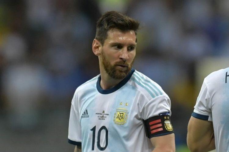 Lionel Messi. foto afp/raul arboleda dipublikasikan kompas.com
